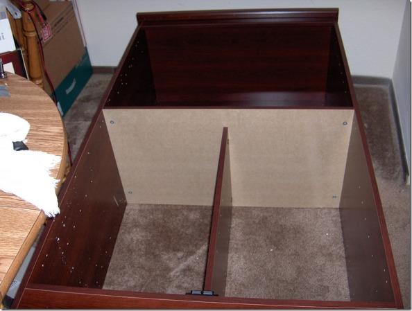 Half Built Dresser