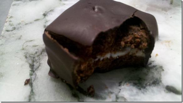 creme de mint brownie