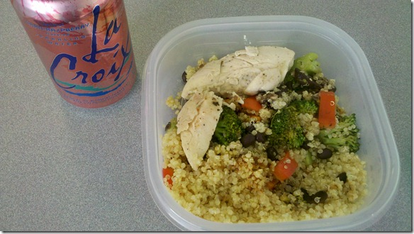 quinoa lunch