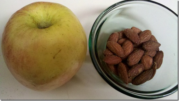 apple n almonds
