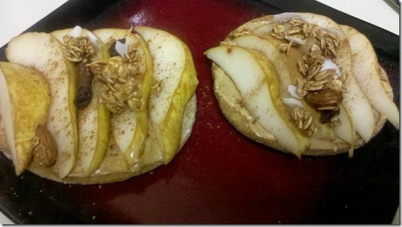 pear bagel