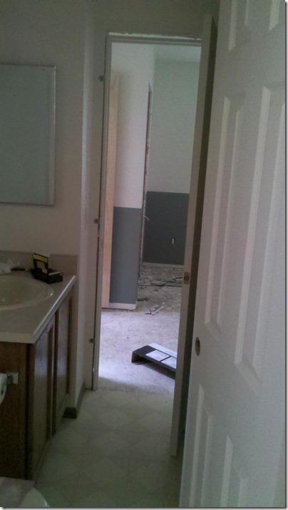 Bathroom Doors Hung