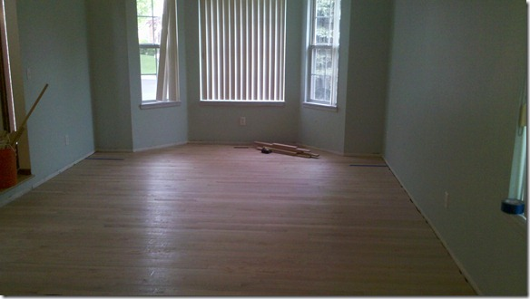 Bird Room 04 - Hardwood done