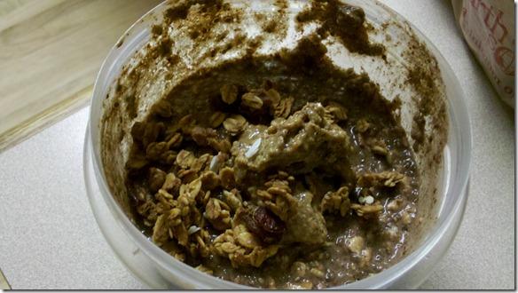 choco overnight oats