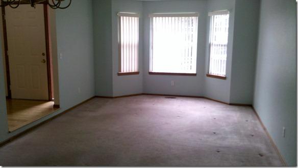 Bird Room 01- Carpet Still Installed